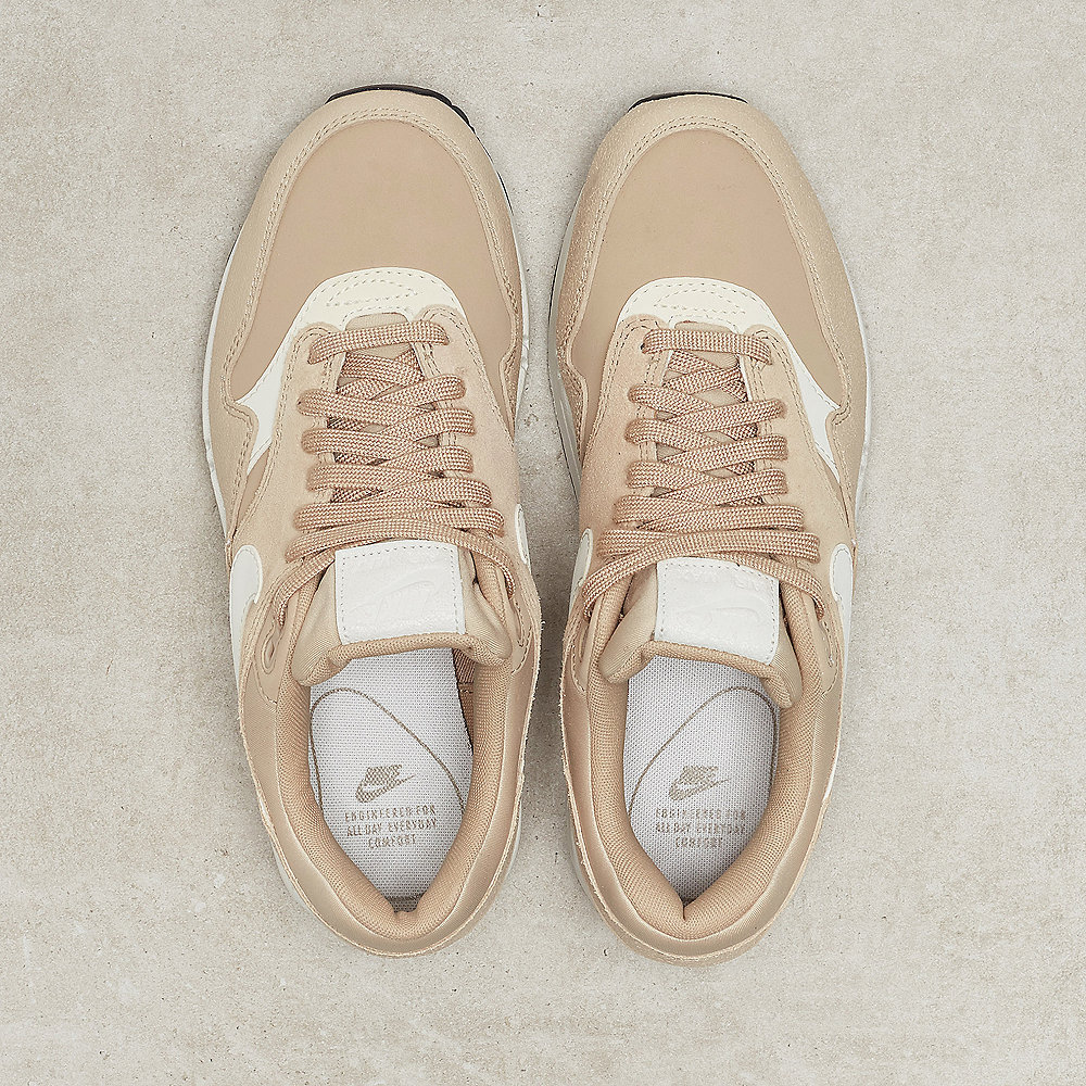 NIKE Air Max 1 Premium Shoe linen/pale ivory-summit