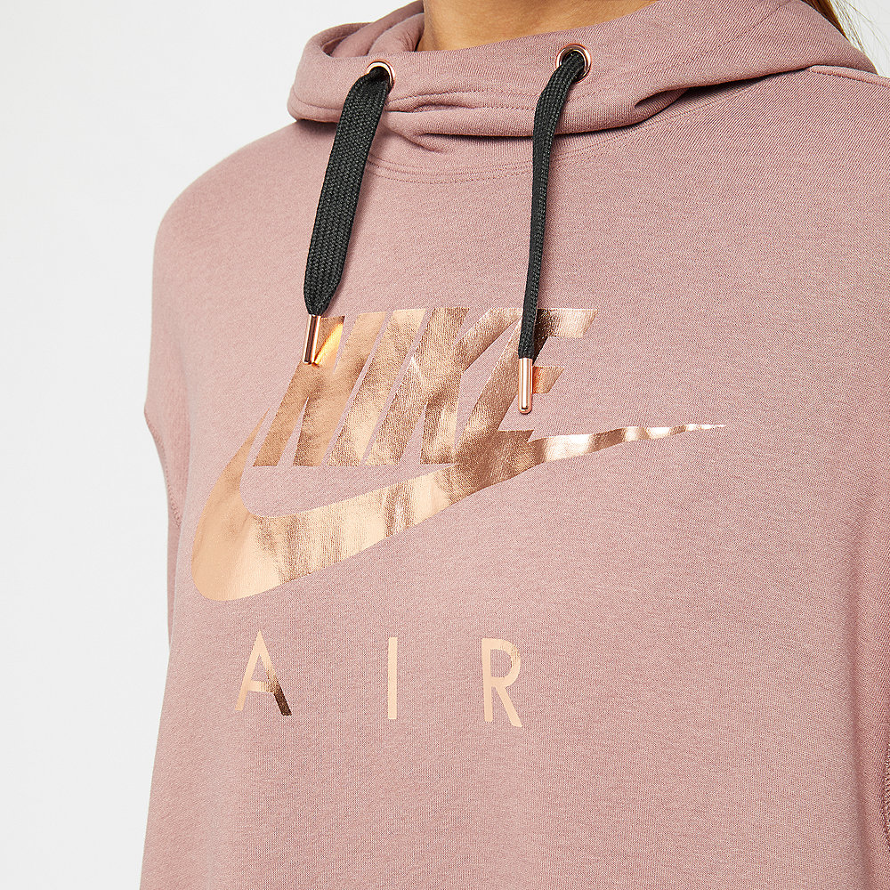 NIKE NSW Air Hoodie smokey mauve/black