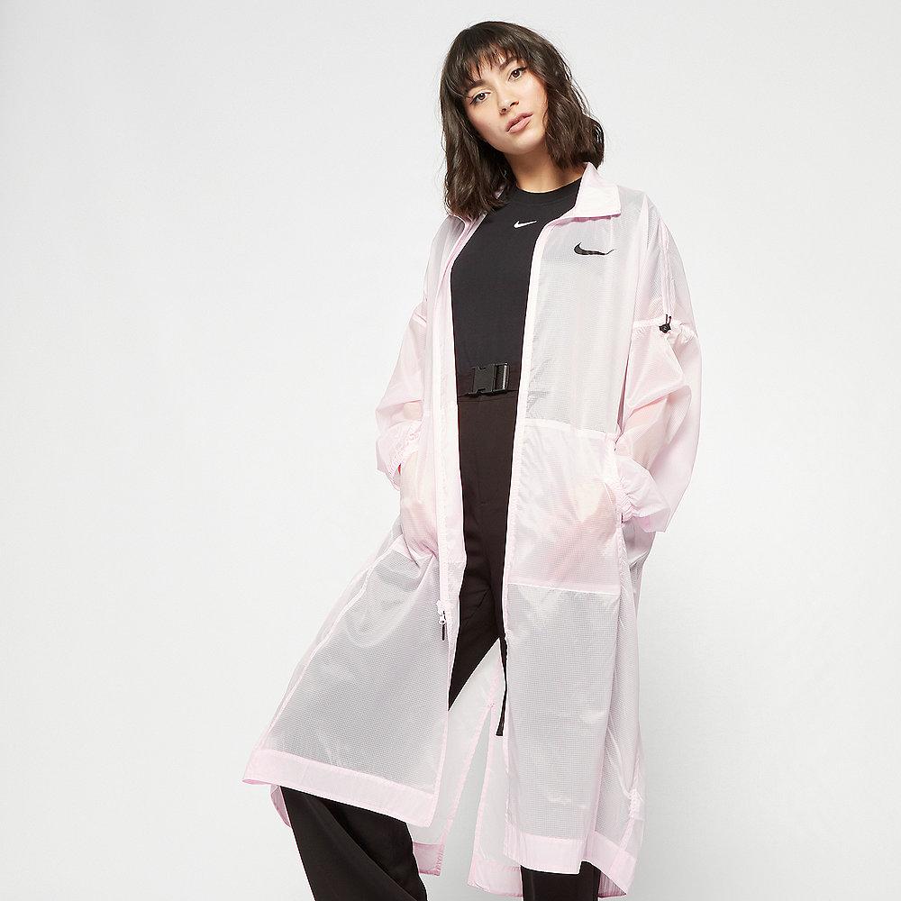 NIKE NSW Jacket Woven Swoosh pink foam/black