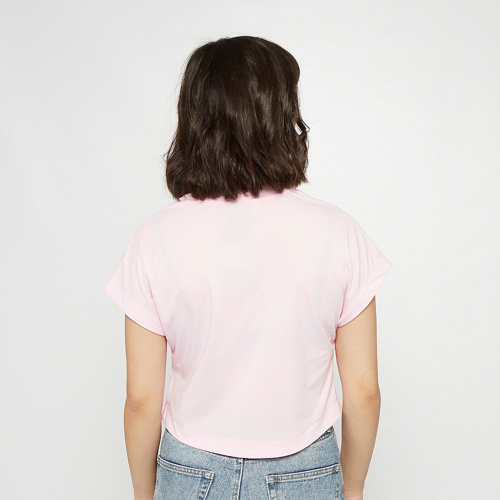 NIKE NSW Swoosh T-Shirt Crop pink foam/black