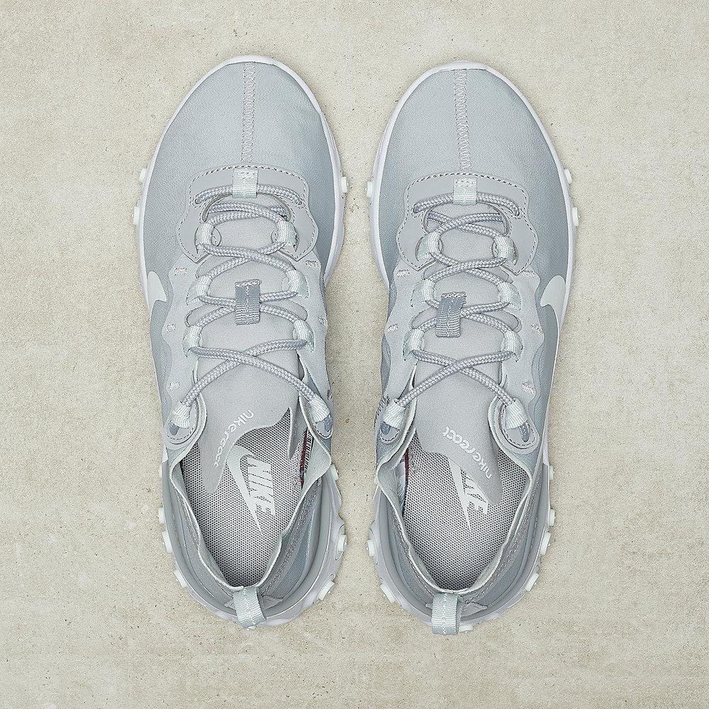NIKE React Element 55 wolf grey/ghost aqua-white