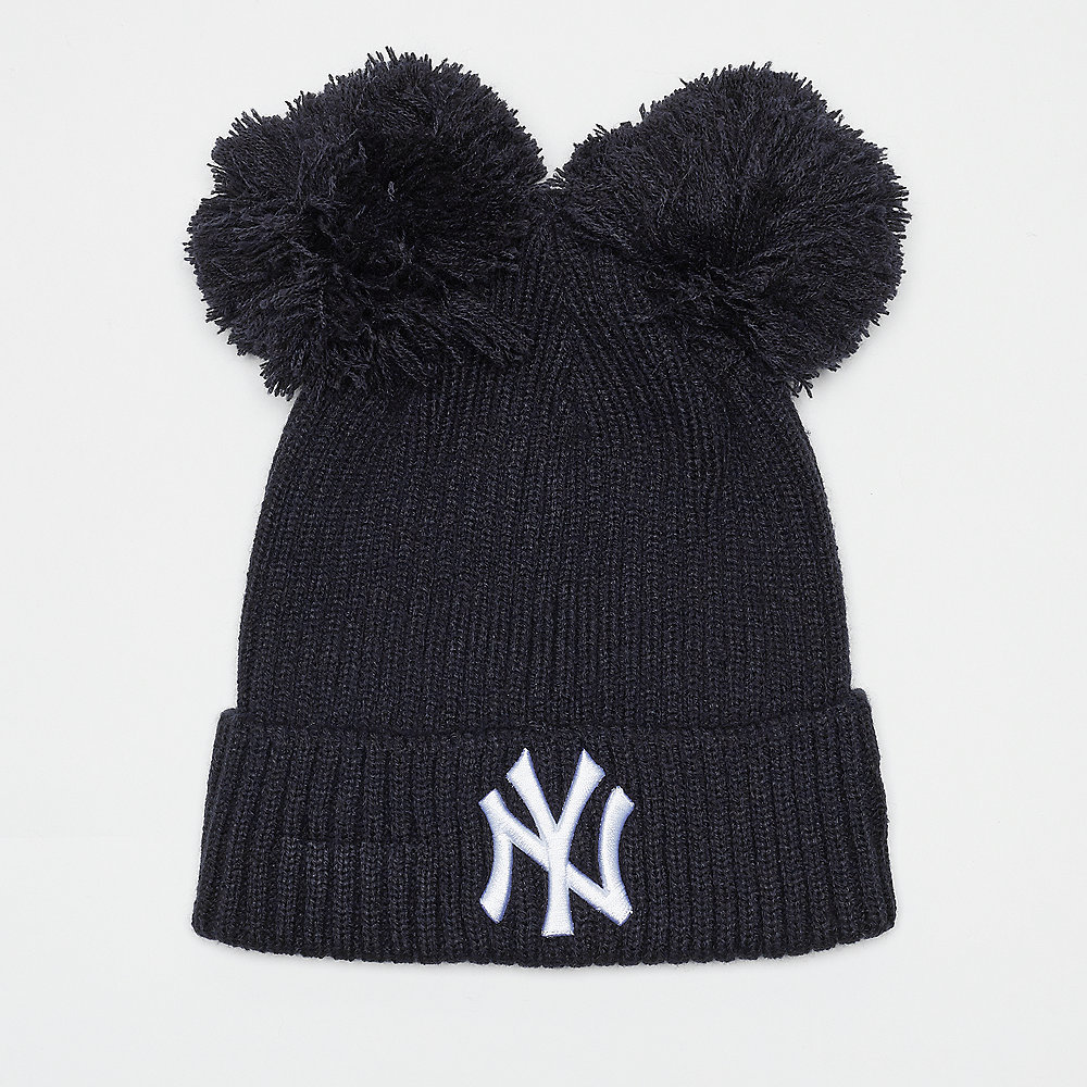 New Era Double Pom Cuff New York Yankees navy