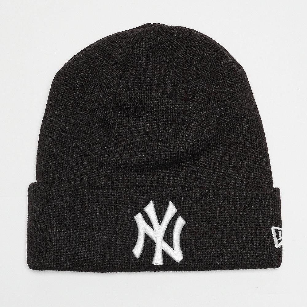 New Era Essential Cuff New York Yankees black/optic white