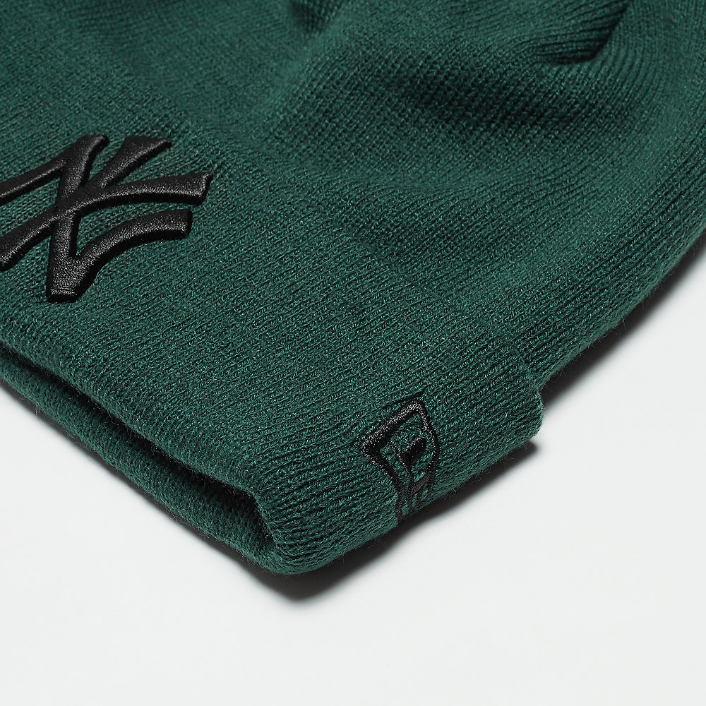 New Era Essential Cuff New York Yankees dark green/black