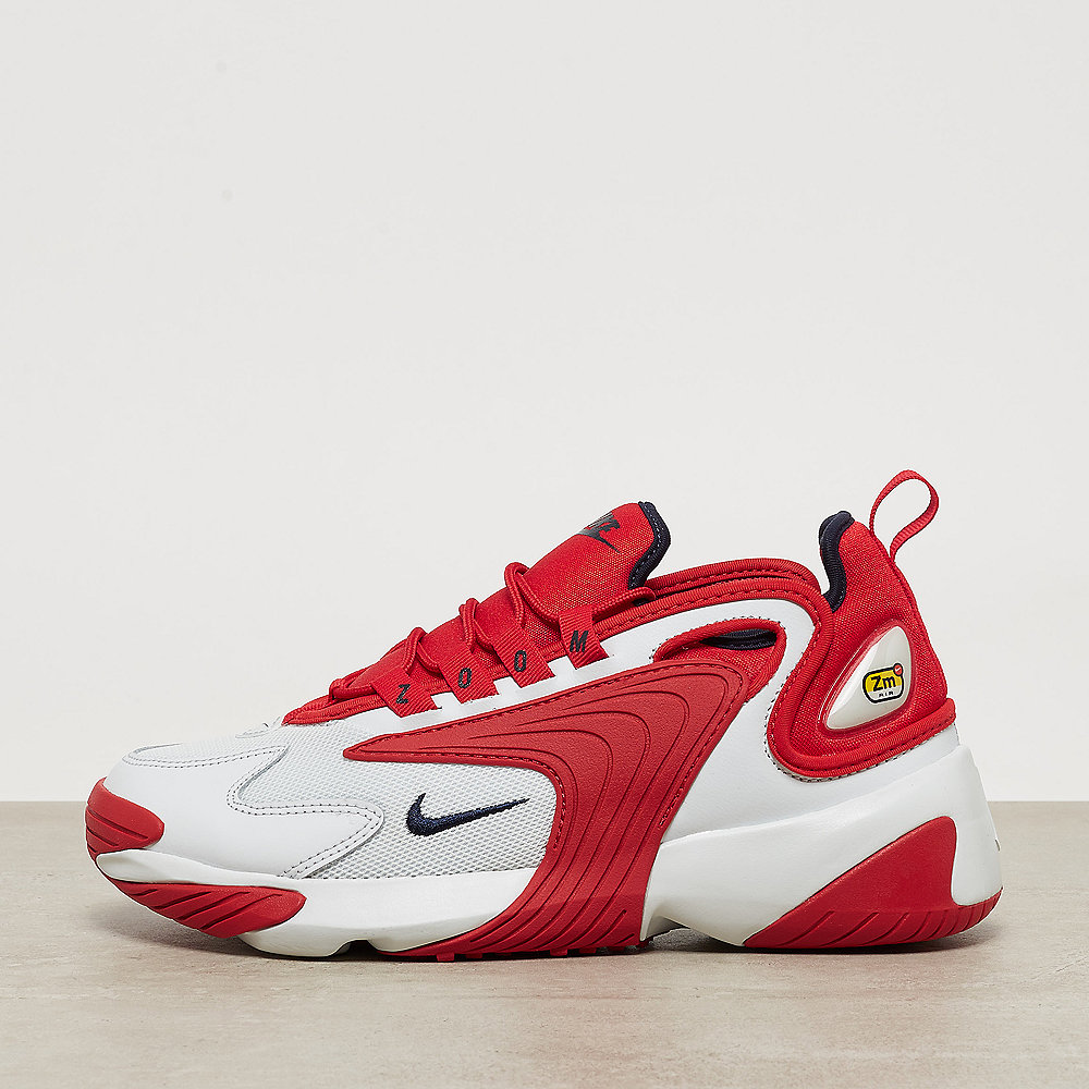 430cd0104080 NIKE Nike Zoom 2K off white obsidian-university red