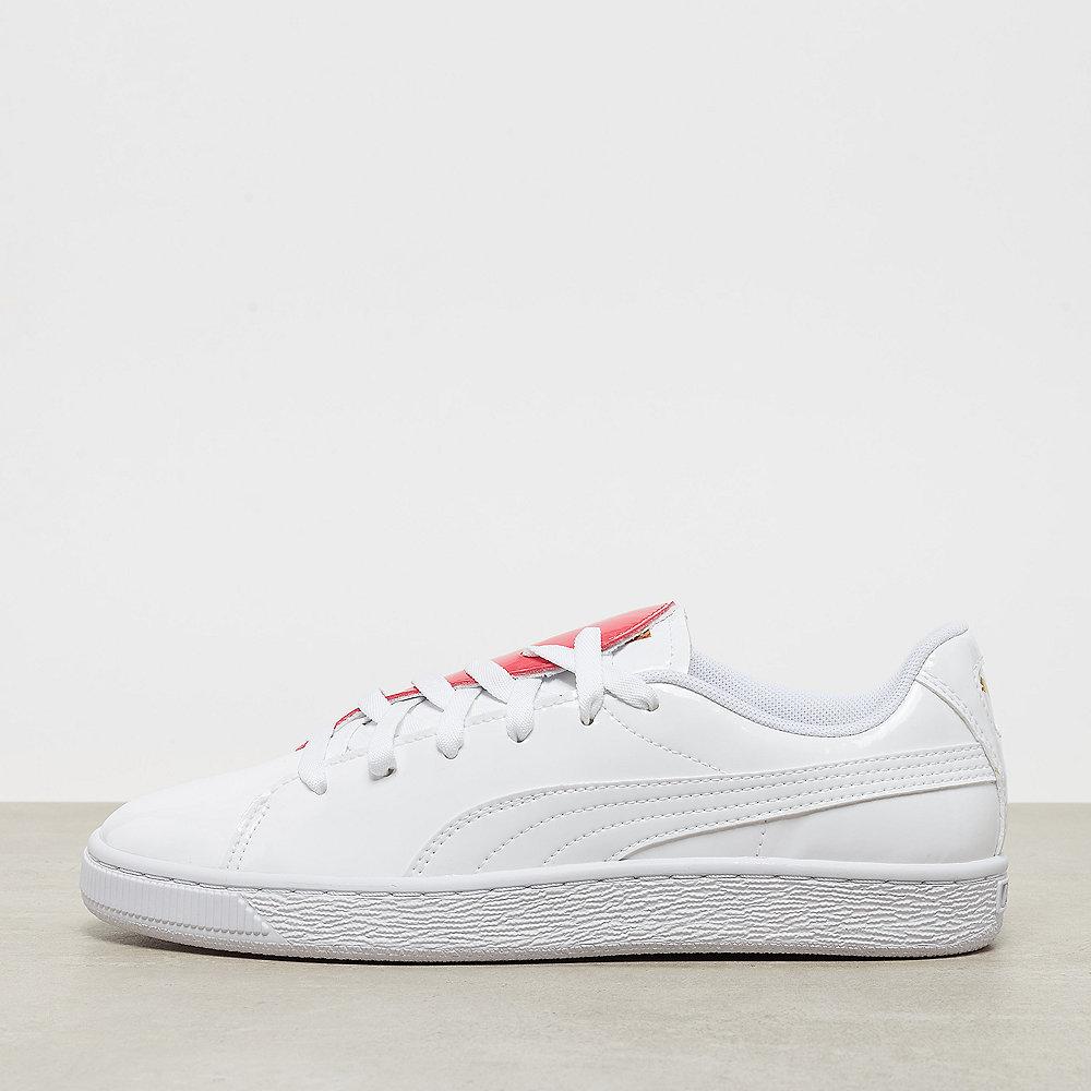acb025b7e3e Puma Basket Crush Wn s white hibiscus Sneaker