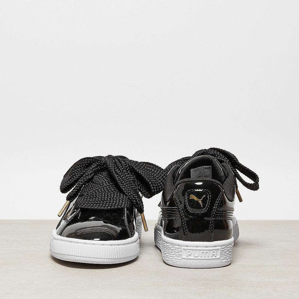 Puma Basket Heart Patent black/black