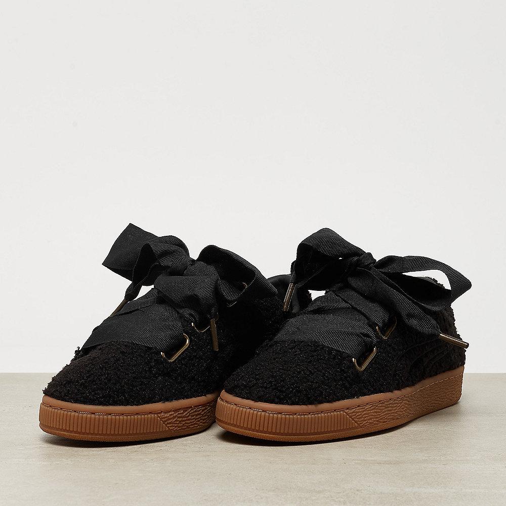 Puma Basket Heart Teddy Wns puma black-puma black
