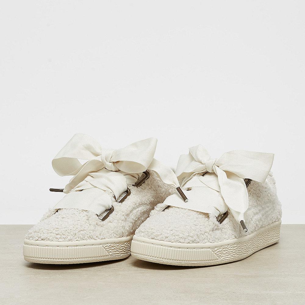 Puma Basket Heart Teddy Wns whisper white-whisper white