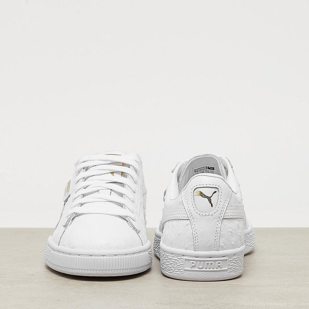 Puma Basket Ostrich Wns puma white-puma silver