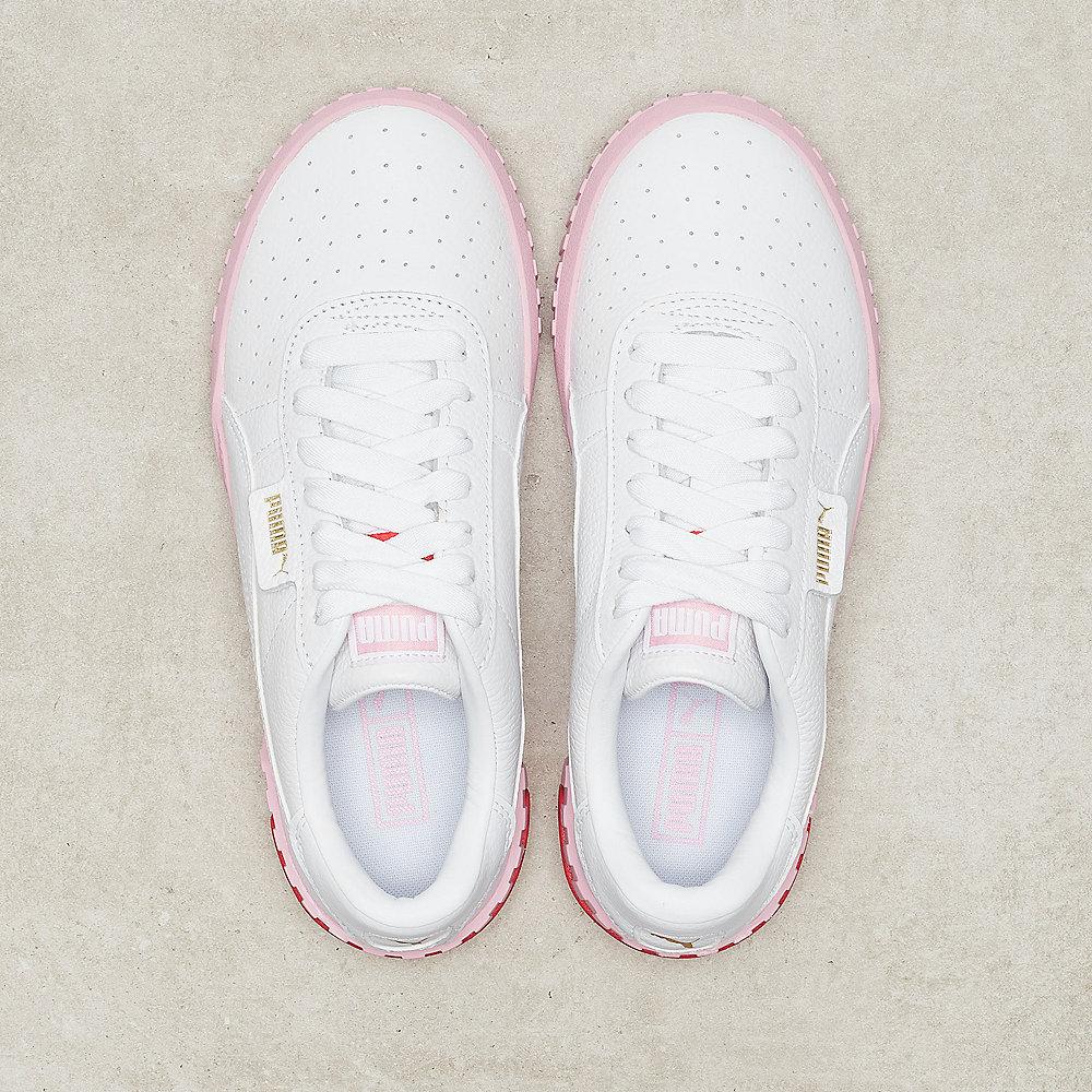 Puma Cali Wn's white/pink