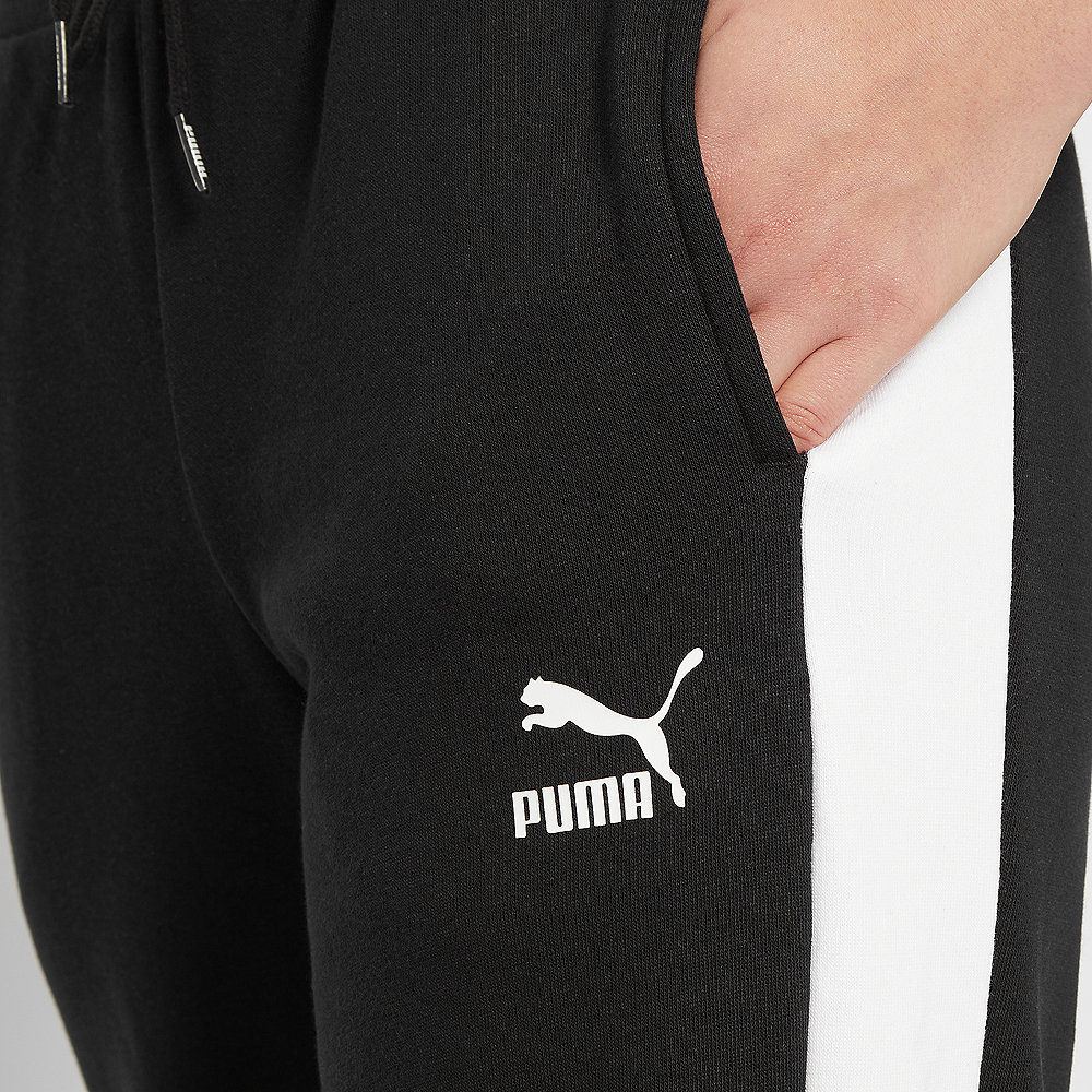 Puma Classics T7 Straight Pants cotton white