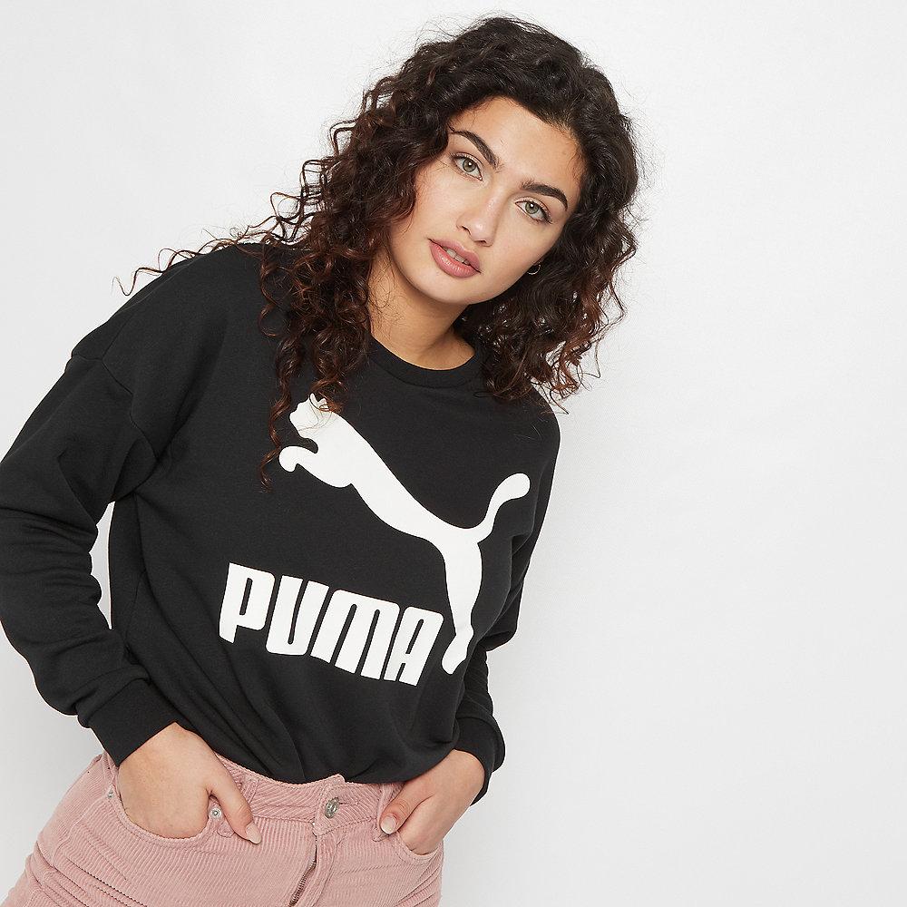 0809ffbc0ea Puma TIVKA Crew Sweat black Pullover | ONYGO