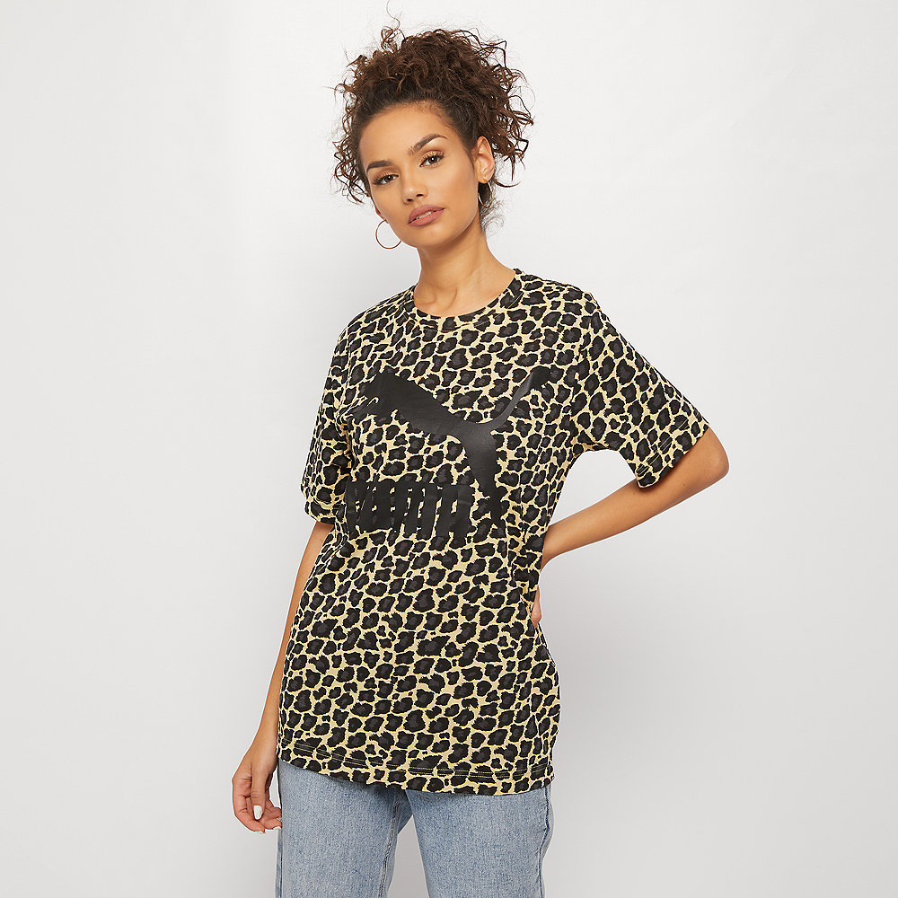 Puma Wild Pack T-Shirt AOP pebble