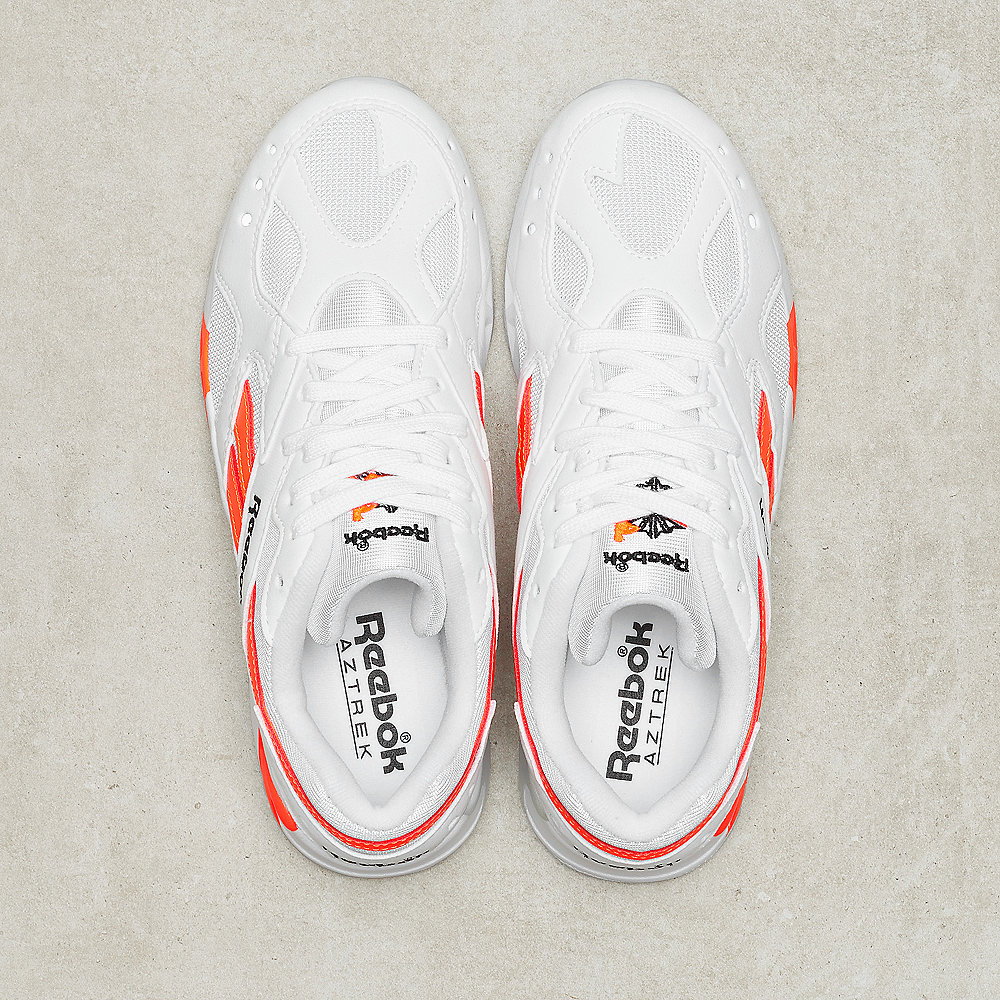 Reebok Aztrek enh-white/black/solar orange