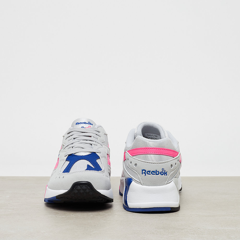 Reebok Aztrek skull grey acid pink coll royal white  8290b9356