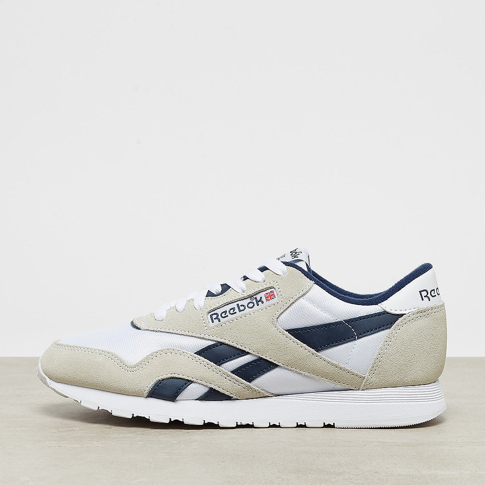 Reebok Classic Leather Nylon archive white/collegiate navy