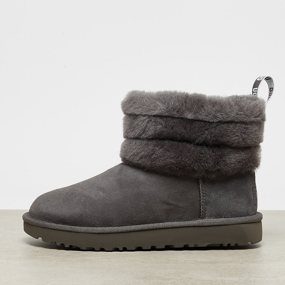 UGG Fluff Mini Quilted charcoal