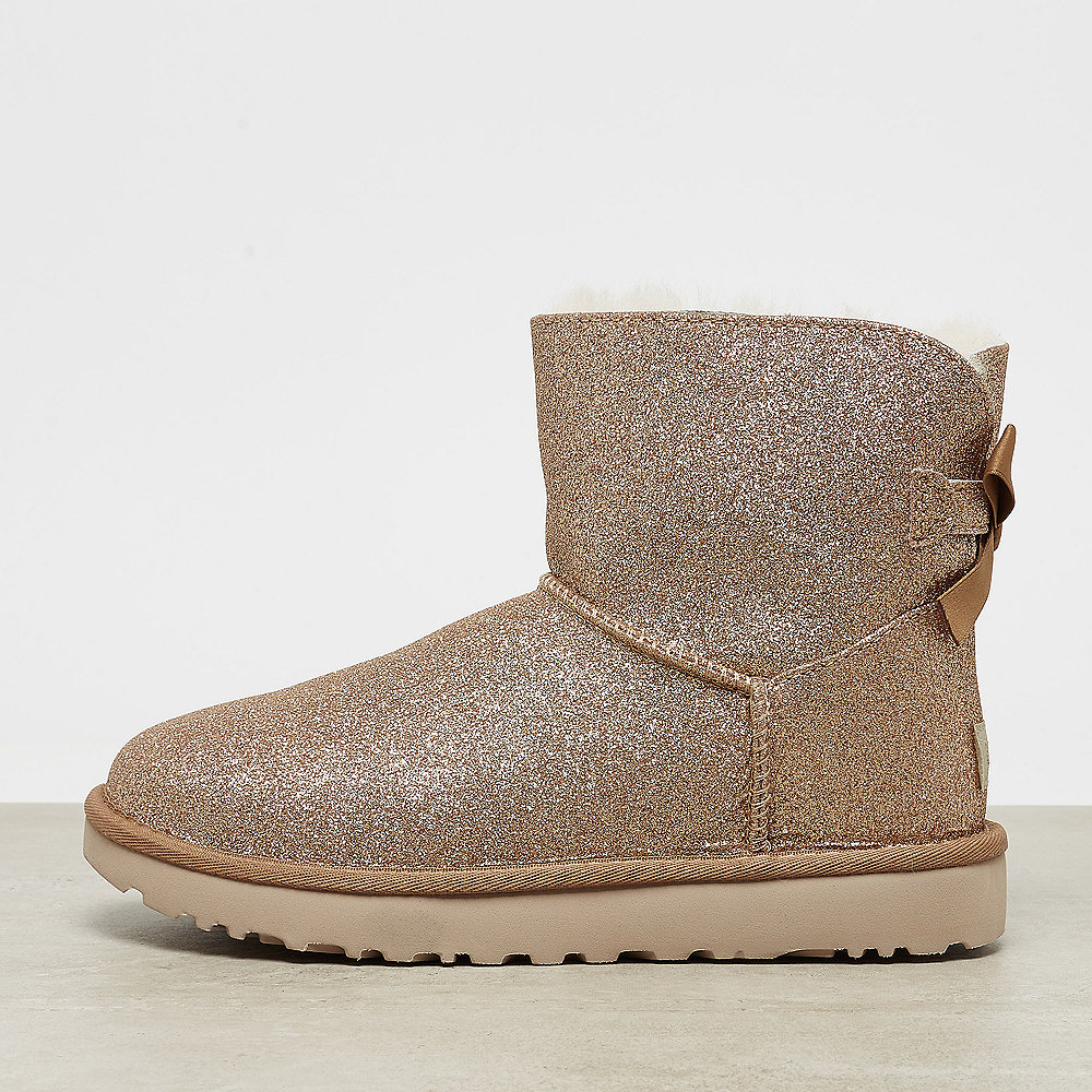 UGG Mini Bailey Bow Sparkle gold