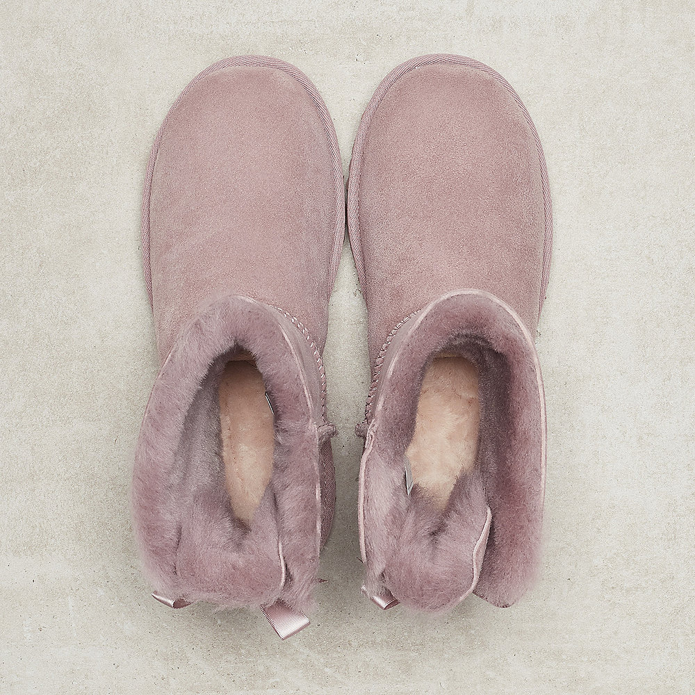 UGG Mini Bailey Bow rose