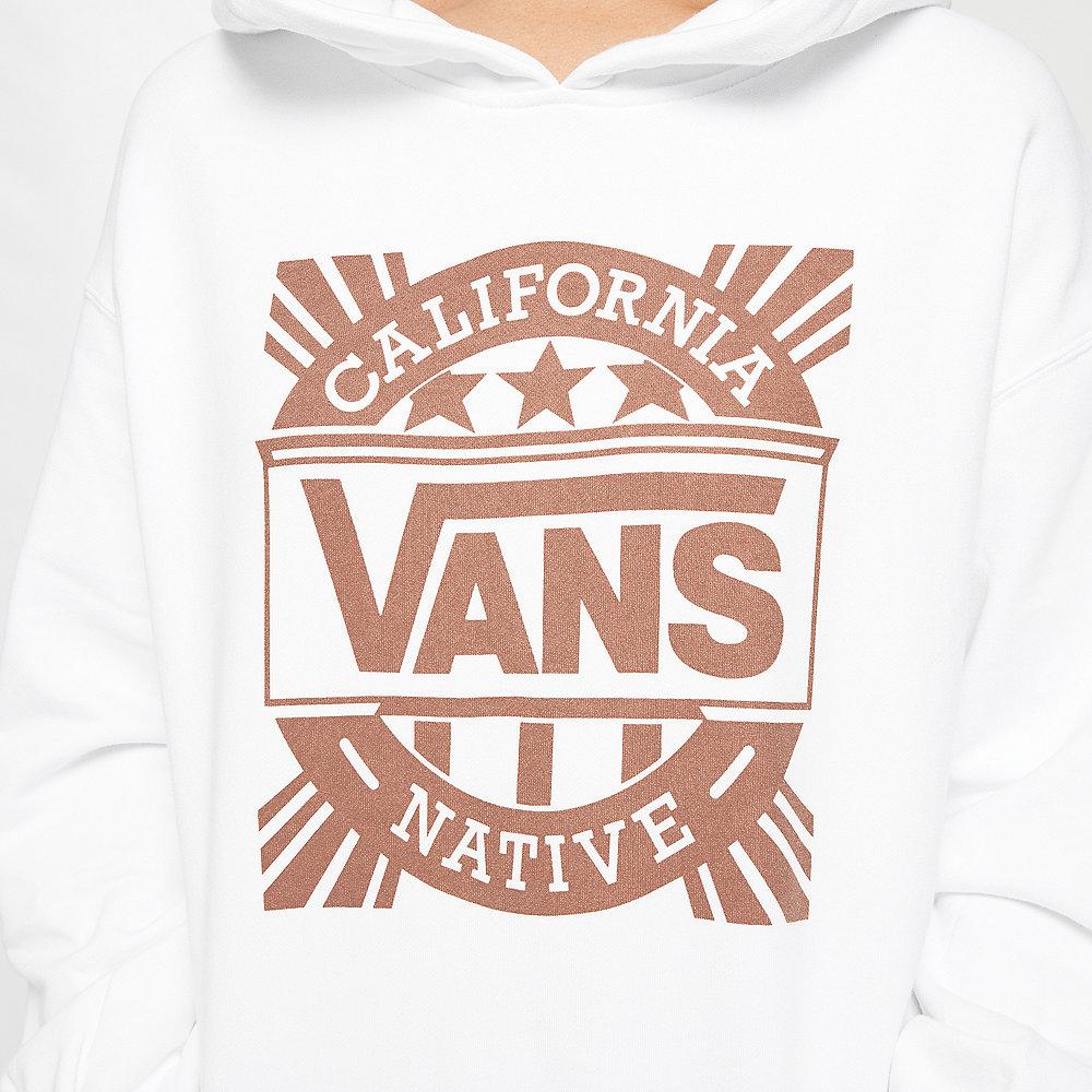 Vans Cali Native Hoodie white