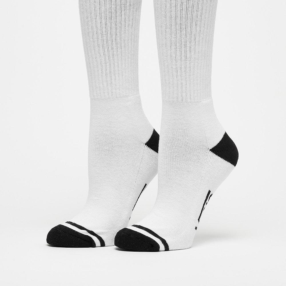 Vans Summer Camp Crew Sock 1PK white black