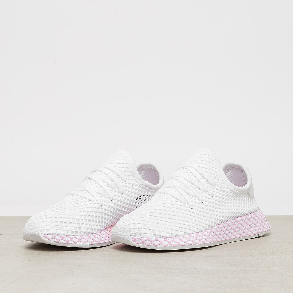 the latest 36c39 63199 adidas Deerupt W whitewhiteclear lilac