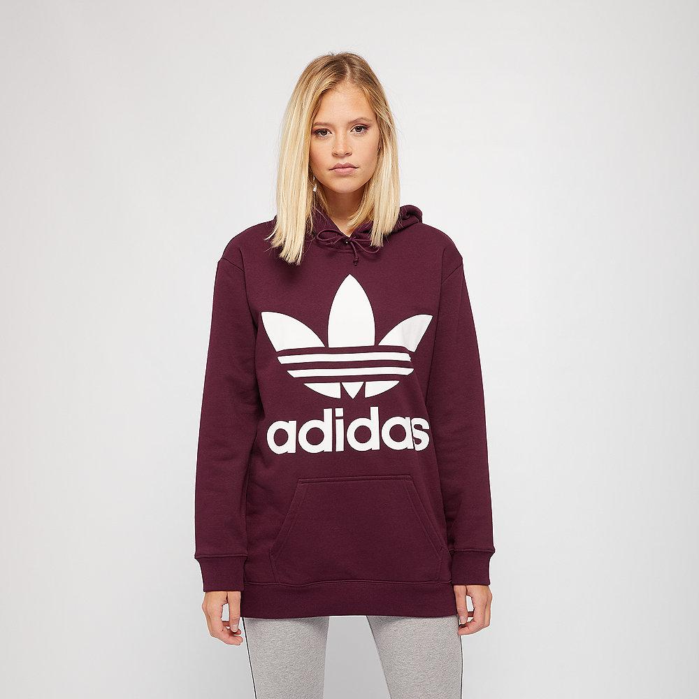 adidas BF TRF Hoodie maroon