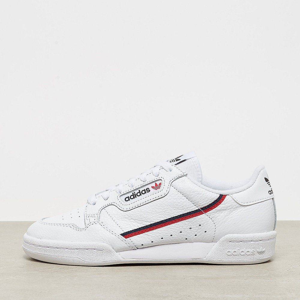 adidas Continental 80 ftwr white/scarlet/collegiate navy