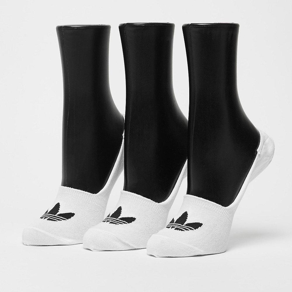 adidas No Show white/black