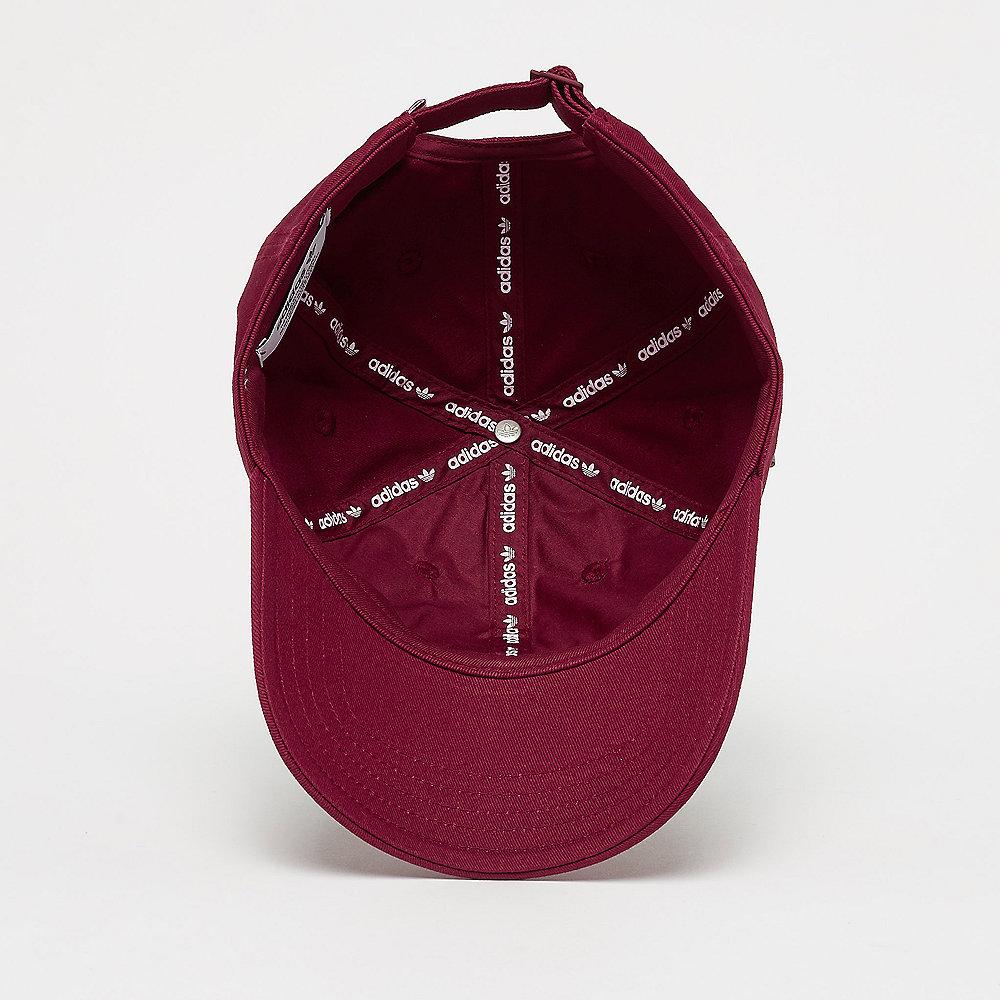 adidas Trefoil Cap collegiate burgundy/white