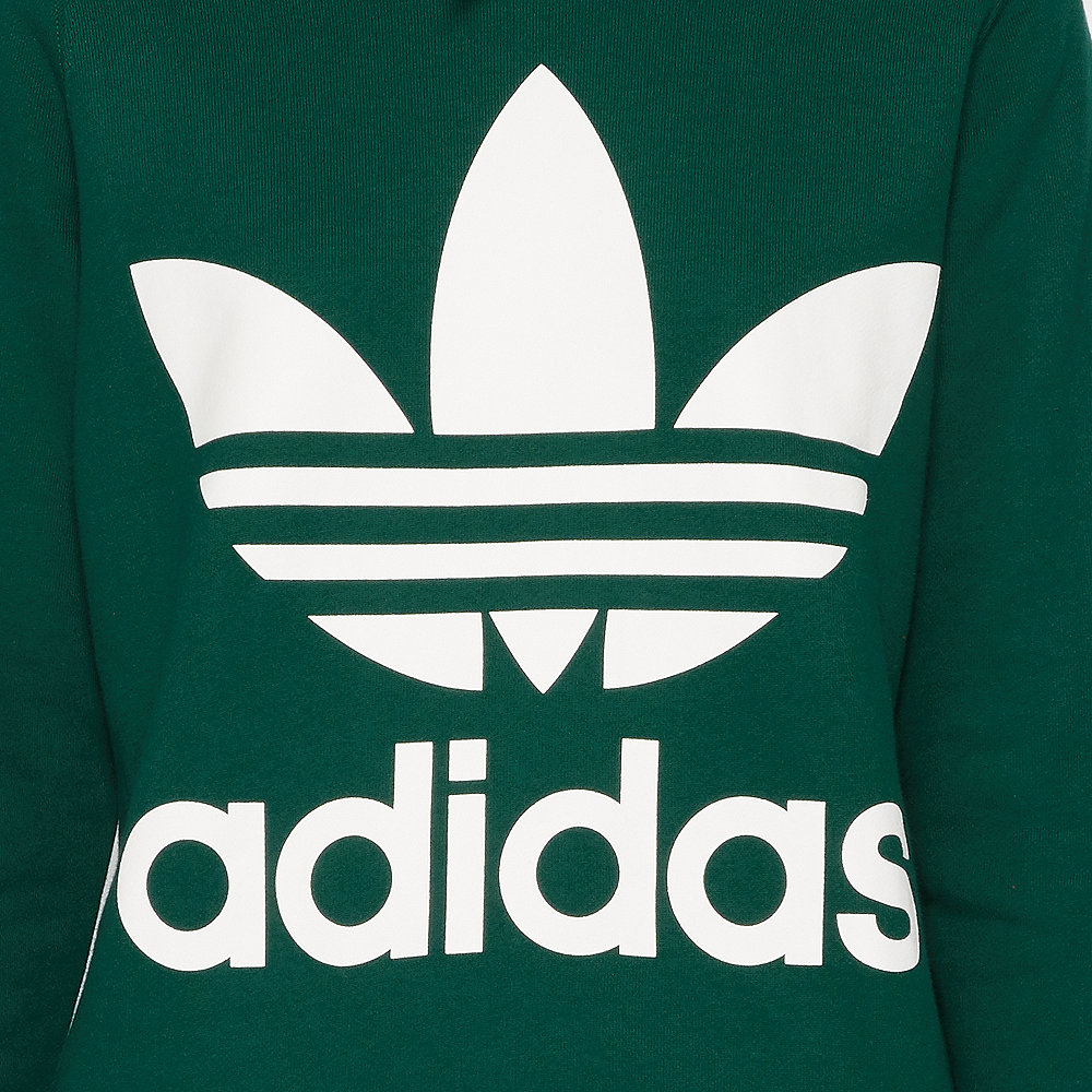 adidas Trefoil Hoodie collegiate green