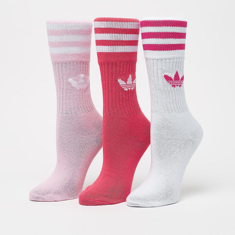 adidas Solid Crew true pink/white