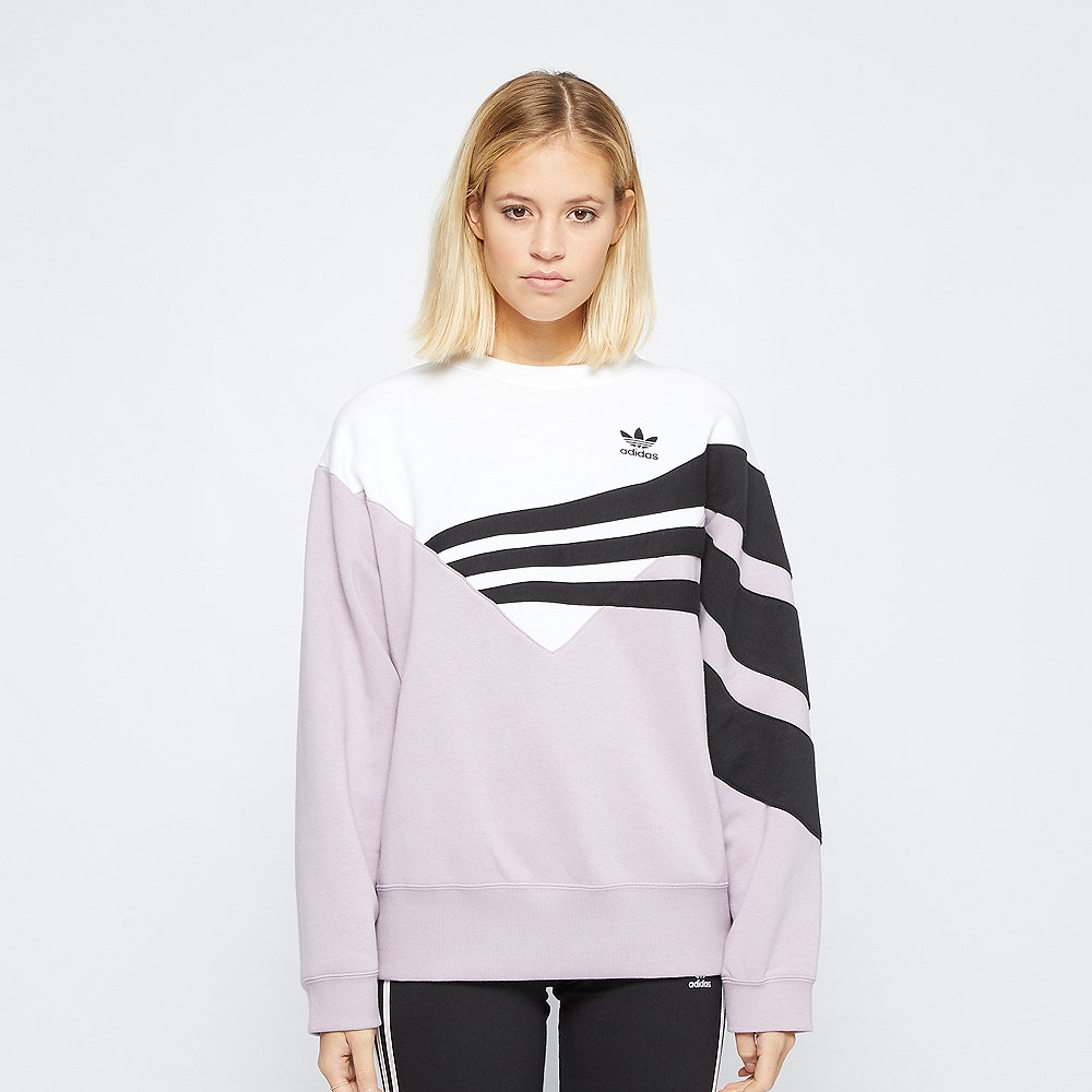 adidas Sweater soft pink/white/black