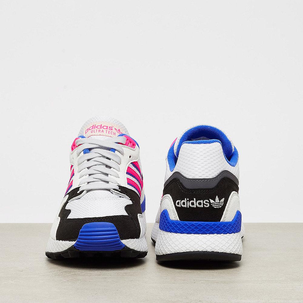 adidas Ultra Tech crystal white/shock pink/core black