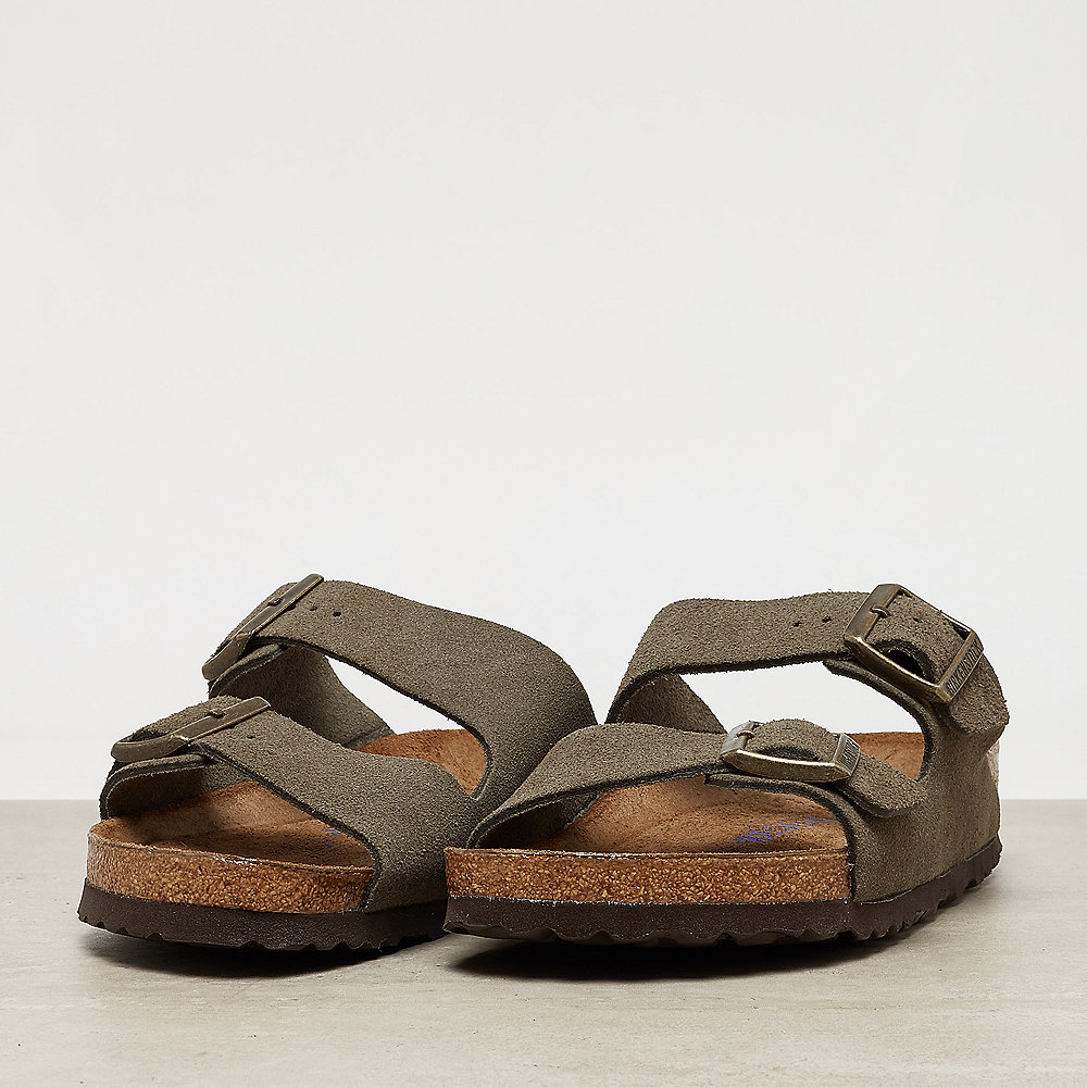 Birkenstock Arizona SFB Leather Suede forest