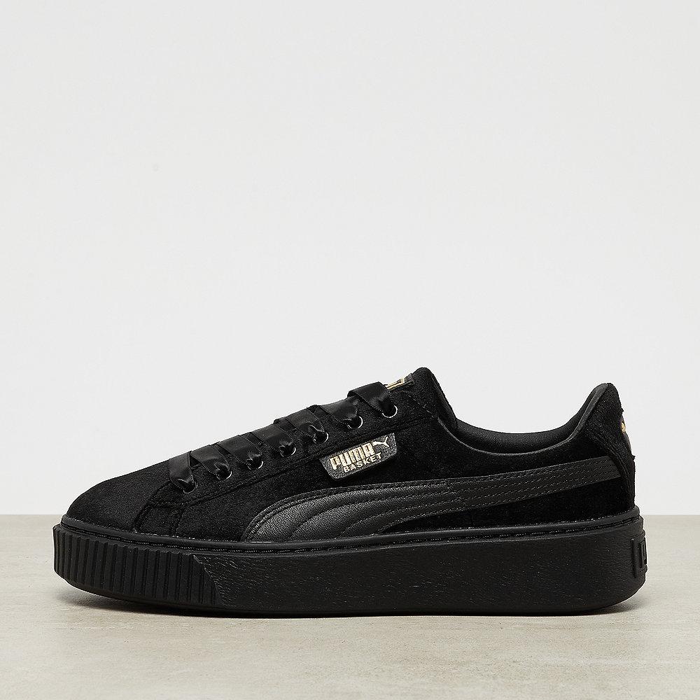 Puma ONYGO exclusive Basket Platform Velvet puma black/puma black