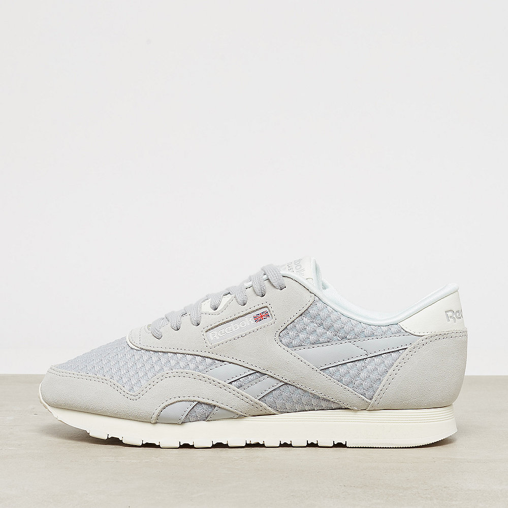 a00005b2bf4 where to buy reebok classic leather nylon mesh skull grey primal red 09bb2  720d2