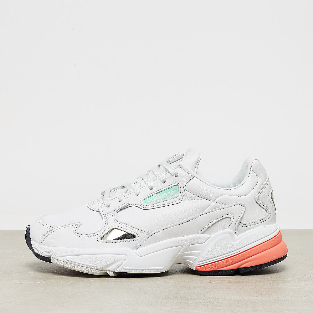 best sneakers 65a93 5aa9e adidas Falcon W crystal whitecrystal whiteeasy orange