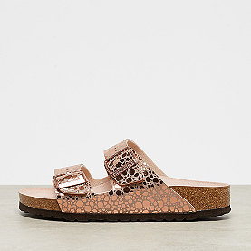 Birkenstock Arizona metallic stones copper