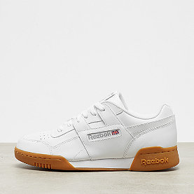 Reebok Workout Plus white/carbon/classic red/gum
