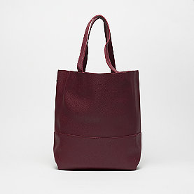 Mae & Ivy Porter Fall Basic Shopper burgundy
