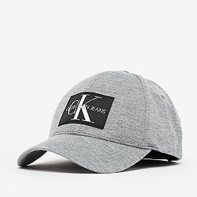 Calvin Klein Monogram Cap mid grey heather