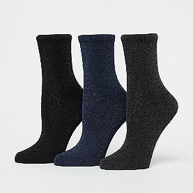 Nümph Kingcity 3-Pack Glitter Socks
