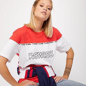 K-Swiss Crenshaw T-Shirt red