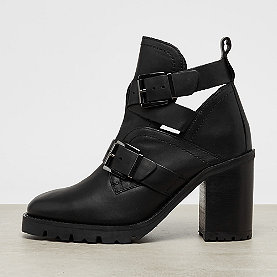 Bronx Visor Cut Out Ankle Boot black