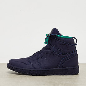 Jordan Wmns Air Jordan 1 High Zip blackened blue/neptune green-wht