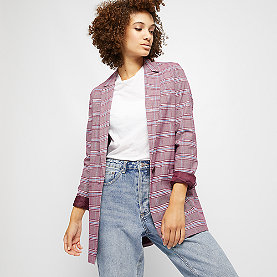 Edited Colette Blazer bordeaux