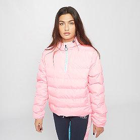Ellesse Filetta 1/2 Zip Padded Jacket pink