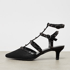 ONYGO Kitten Heel Strap Pump black